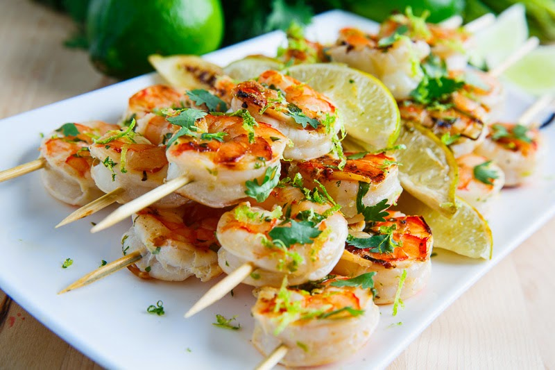 Grilled Shrimp With Cilantro, Lime, And Peanuts Recipes — Dishmaps